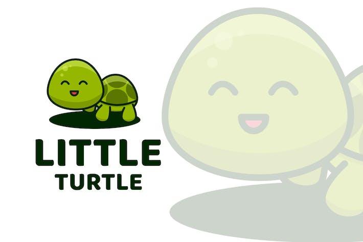 Thumbnail for Little Turtle Cute Logo Template