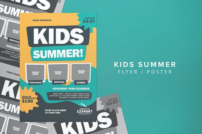 Thumbnail for Kid Summer Flyer