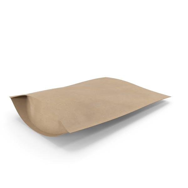 Zipper Kraft Paper Bag 300g
