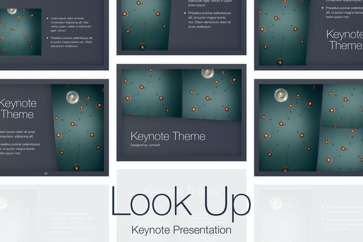 Thumbnail for Look Up Keynote Template