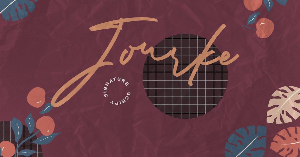 Download Jourke - Signature Script by graptailtype