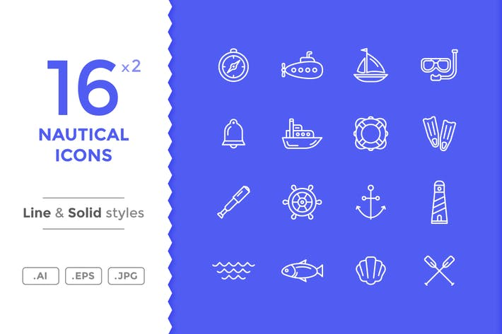 Thumbnail for Nautical Icons