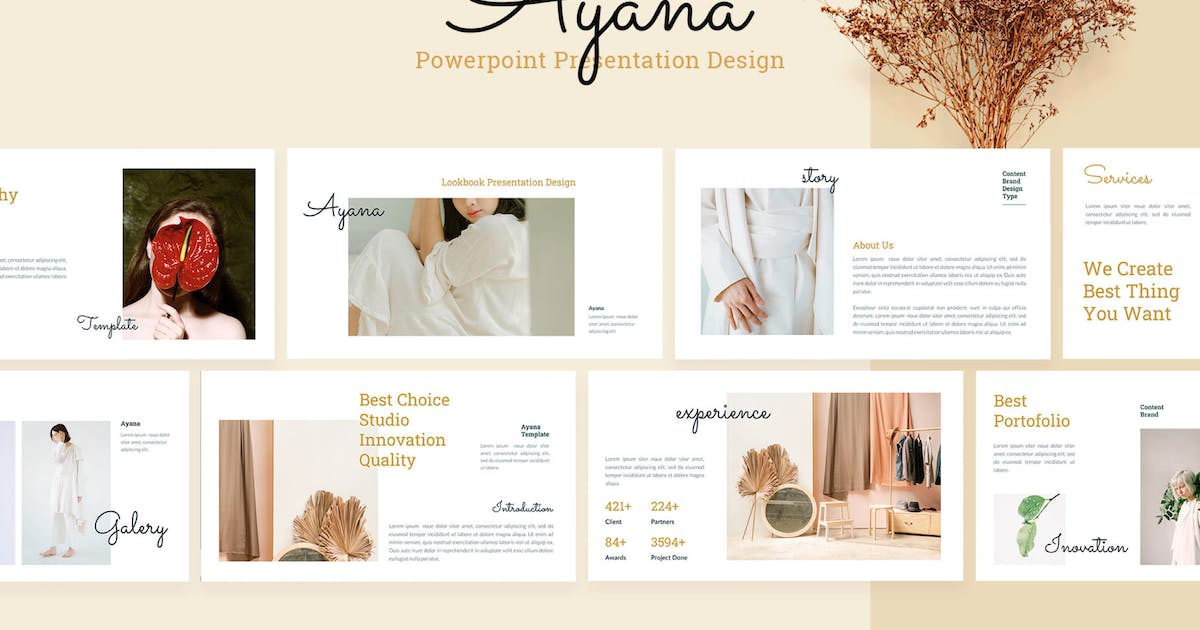 Download Ayana - Powerpoint Presentation Template by sudutlancip