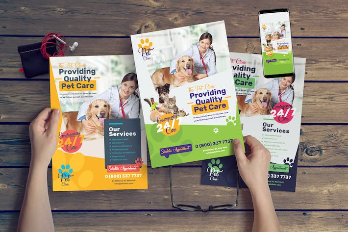 Thumbnail for Pet Clinic Flyer