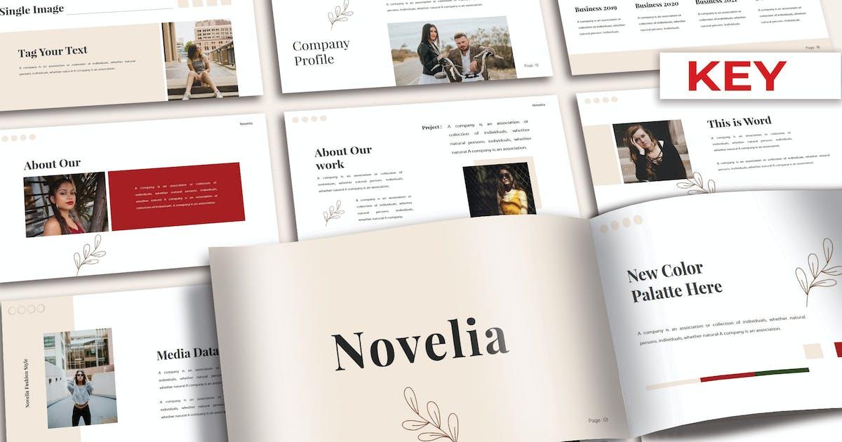 Download NOVELIA - Keynote Template by joelmaker