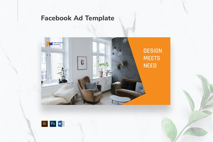 Thumbnail for Interior Designer Firm Facebook Ad