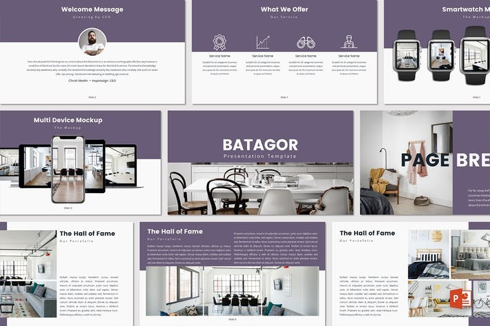 Cover Image For BATAGOR - Powerpoint Template
