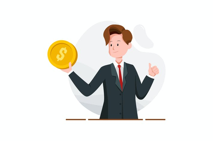 Thumbnail for Fast loan, paying and credit cash concept