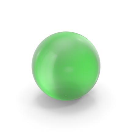 Glass Ball Green