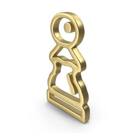 Pawn Logo Gold