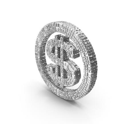 Silver Dollar Symbol