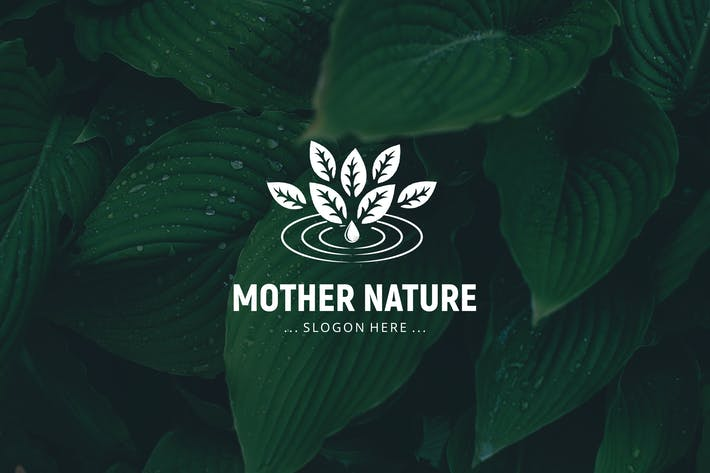Cover Image For Mother Nature Logo