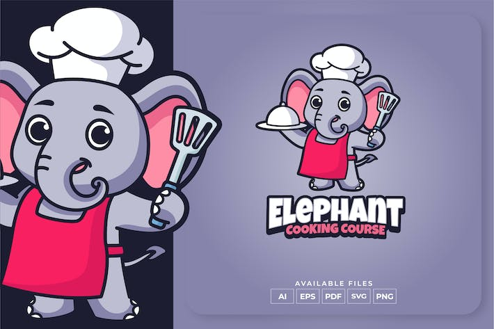 Thumbnail for Elephant Cooking Course Logo