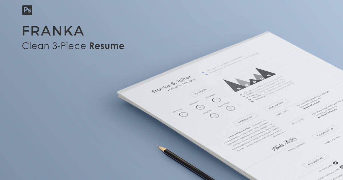Download Resume | Franka by Haluze