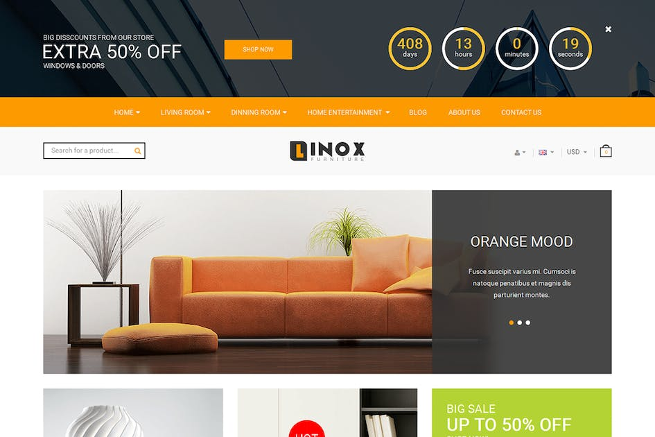 Download Oppo Shop - Responsive Magento Theme by 7uptheme
