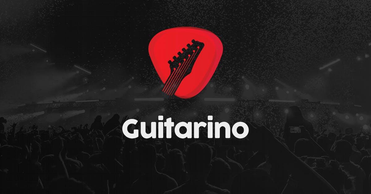 Download Guitar Music Shop Logo by merkulove