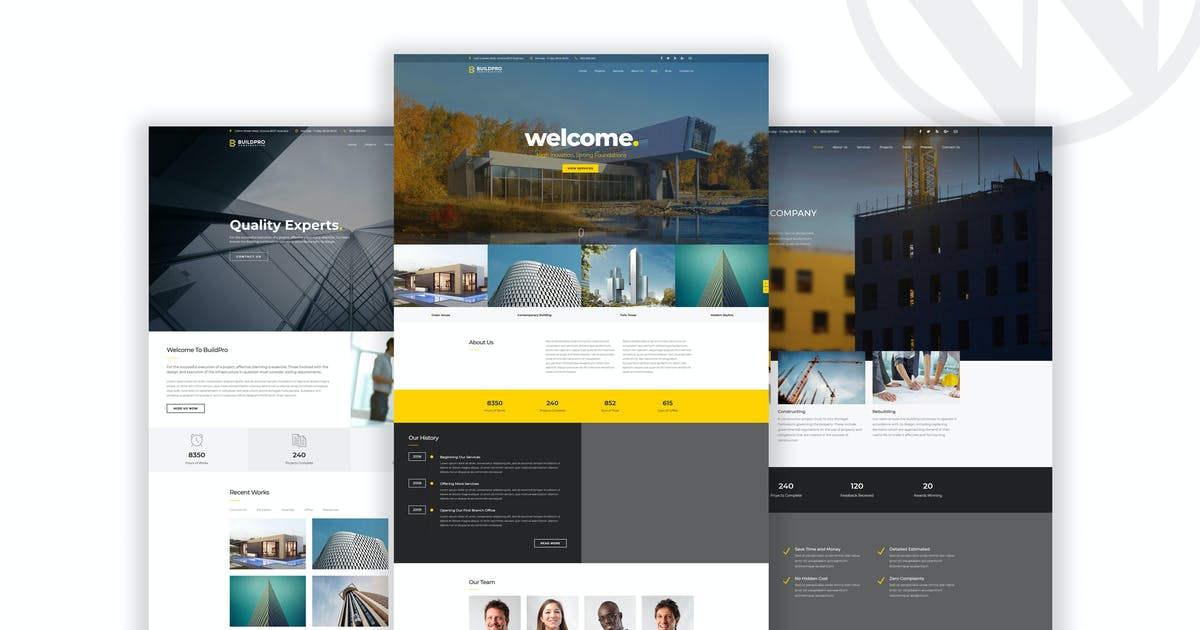 Download BuildPro - Business & Construction WordPress Theme by OceanThemes