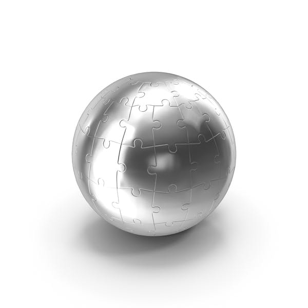 Chrome Globe Puzzle