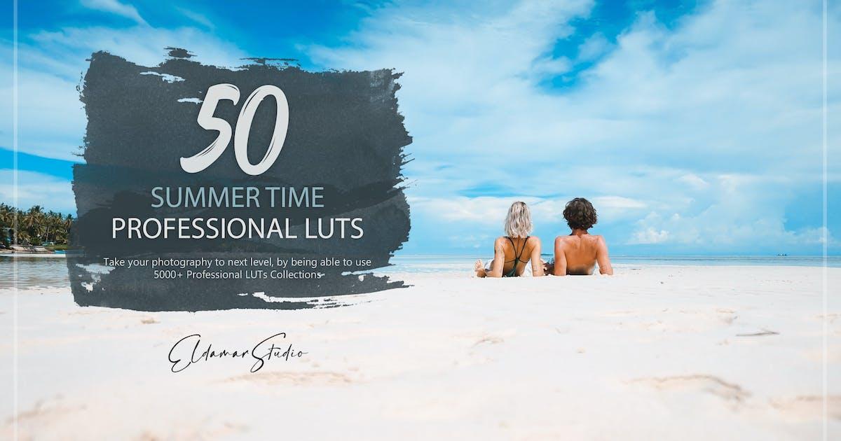 Download 50 Summer Time LUTs Pack by Eldamar_Studio