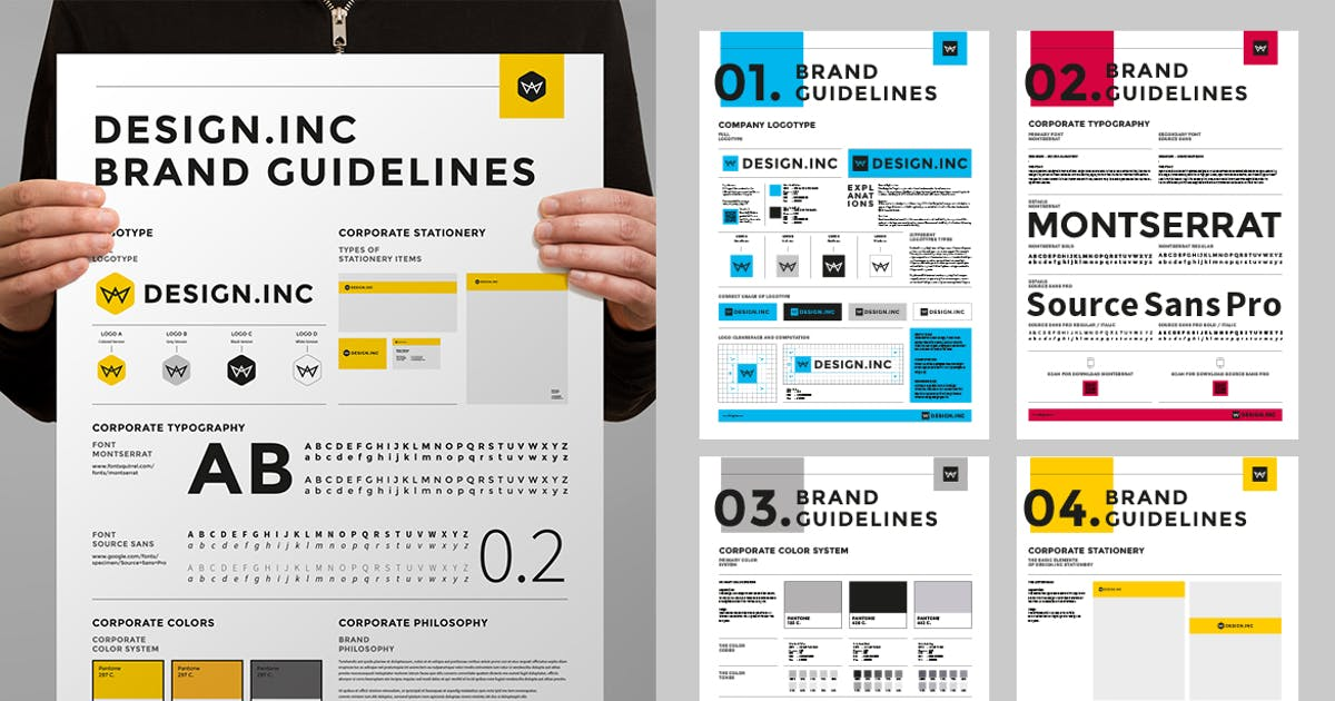 Download Brand Manual Poster by egotype