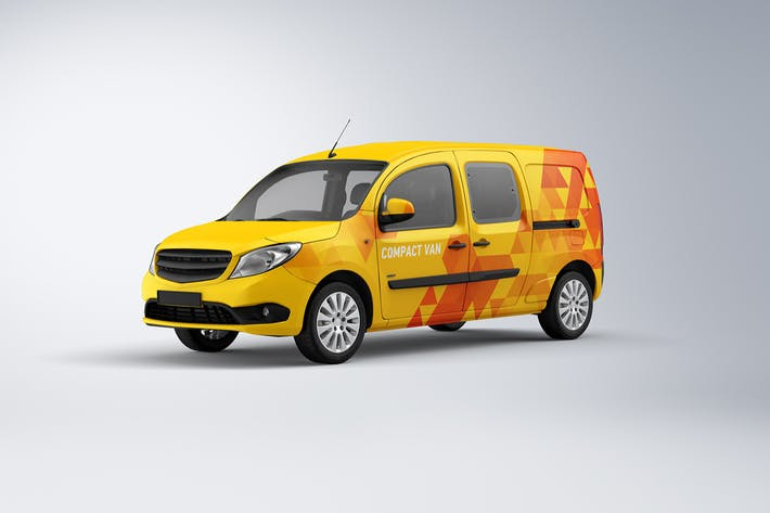 Cover Image For Compact Van Mock-up