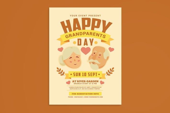 Thumbnail for Grandparents Day Flyer