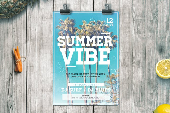 Thumbnail for Summer Vibe Flyer
