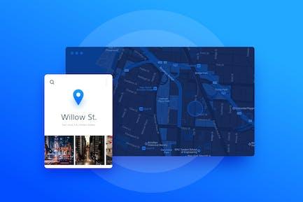Maps Location Widget
