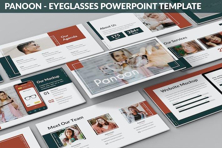 Panoon - Eyeglasses Powerpoint Template