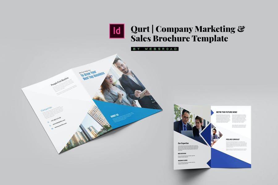 Qurt | Company Marketing & Sales Brochure Template