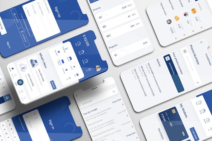 Thumbnail for Eazymoney UI Kit - E Wallet Apps