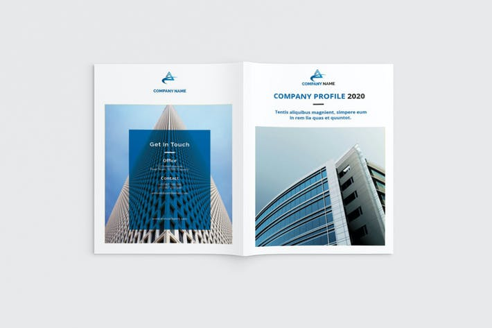 Thumbnail for Workz - A4 Business Brochure Template