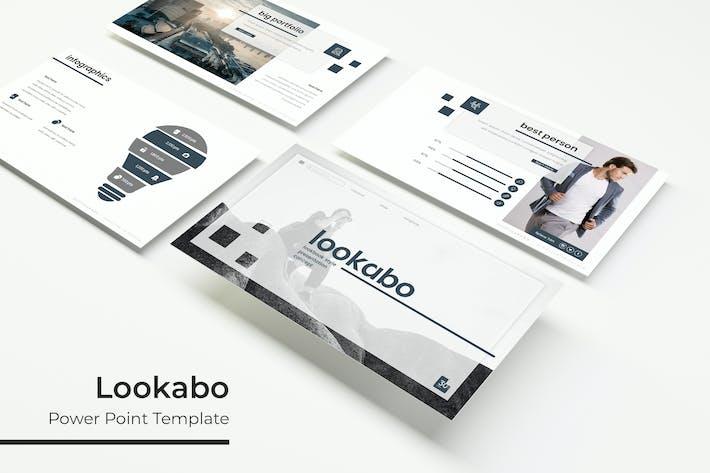 Thumbnail for Lookabo - Plantilla Powerpoint