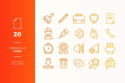 User Interface Icons Pack