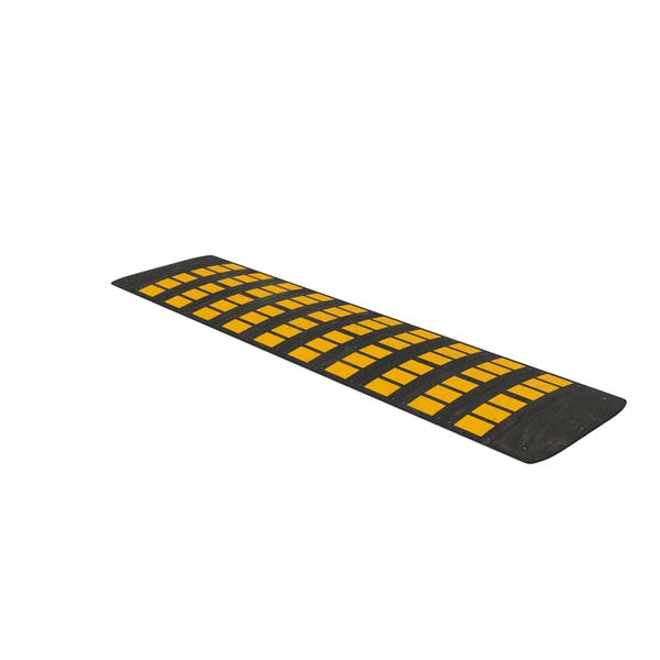 Rubber Speed Hump Dusty