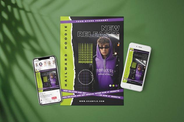 Streetwear Fashion - Flyer Media Kit
