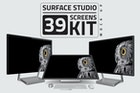 Surface Studio Kit Mockup