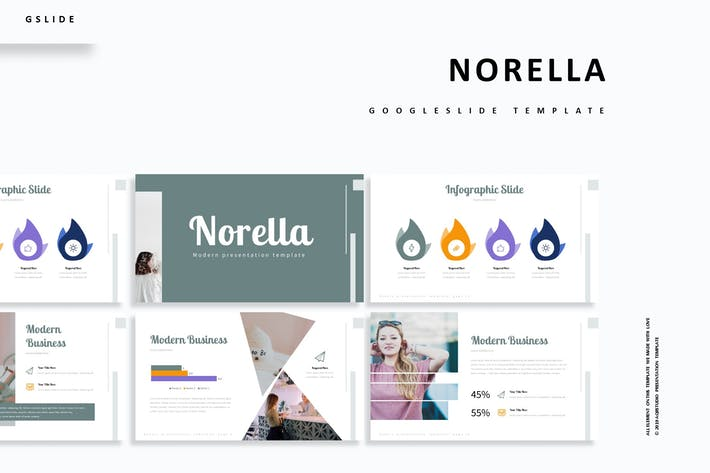 Cover Image For Norella - Google Slide Template