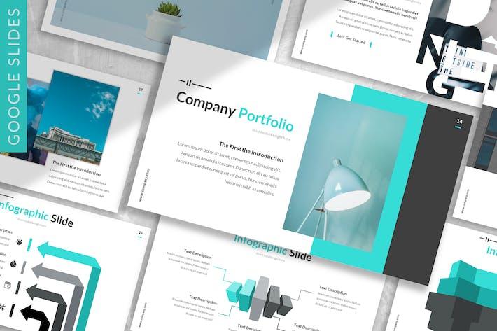Thumbnail for Serdana - Business Google Slides Template