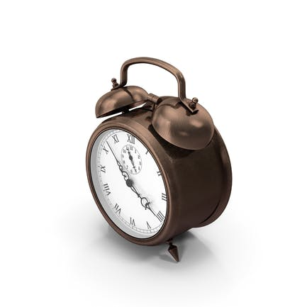 Alarm Clock Bronze