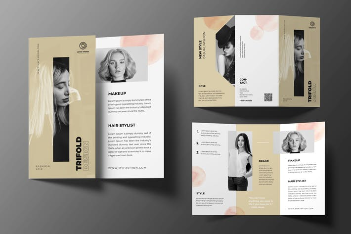 Thumbnail for Beauty Care Trifold Brochure
