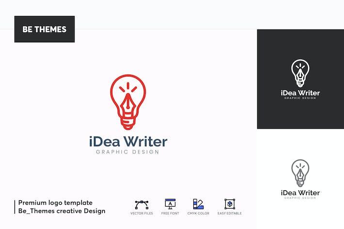 Thumbnail for iDea Writer Logo Template