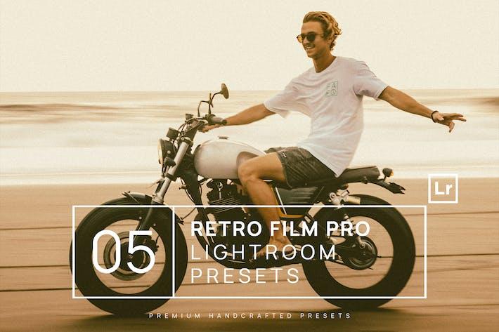Thumbnail for 5 Retro Film Pro Lightroom Presets + Mobile