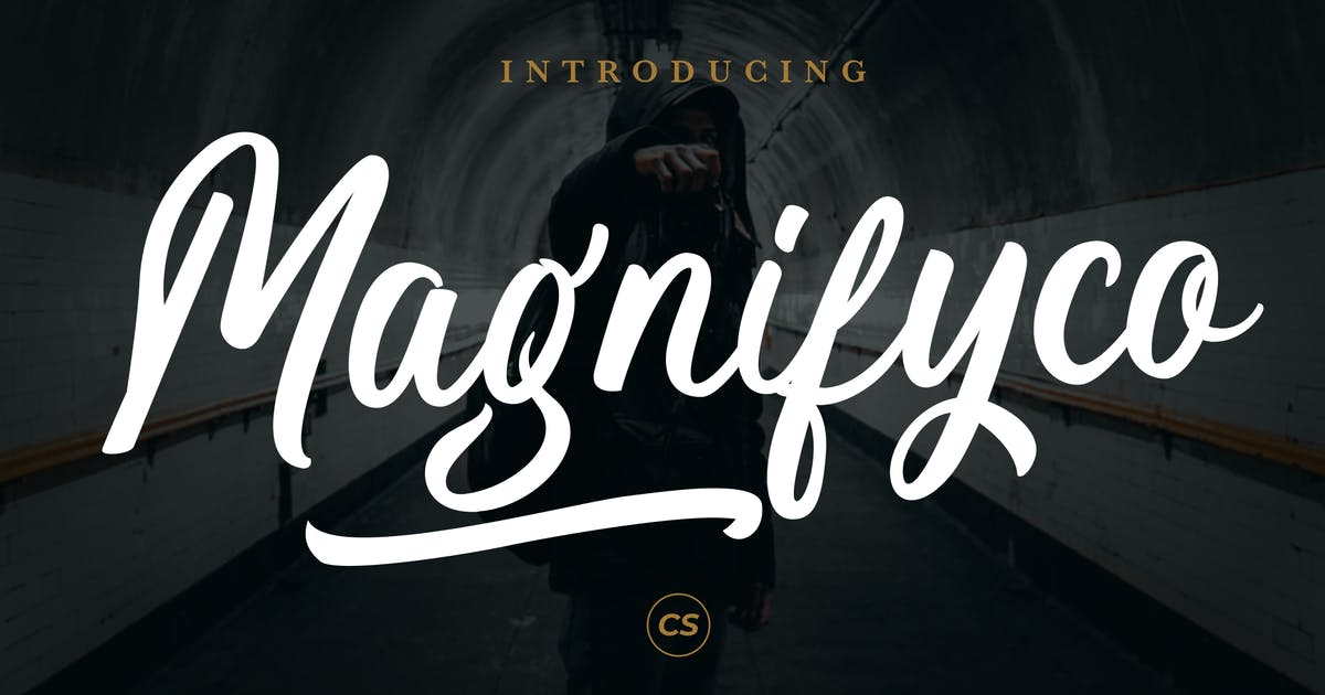 Download Magnifyco Bold Script by RahardiCreative