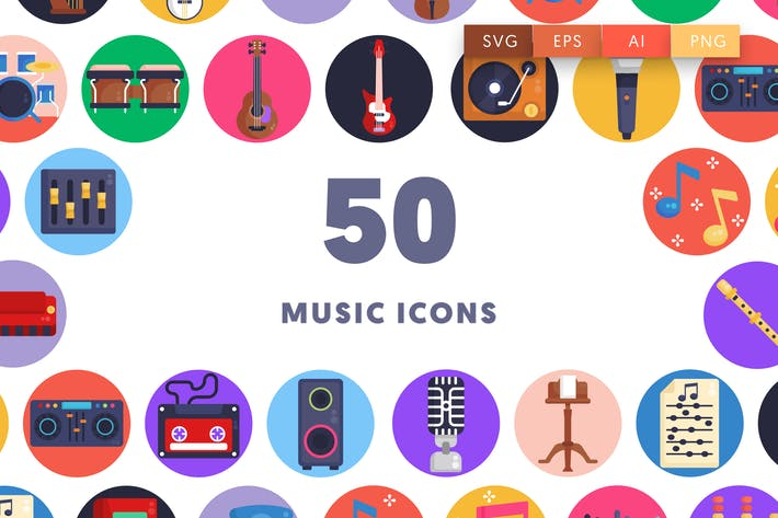 Thumbnail for Music Icons
