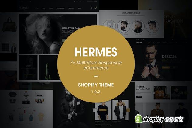 Hermes | Multi Store Responsive Shopify Theme