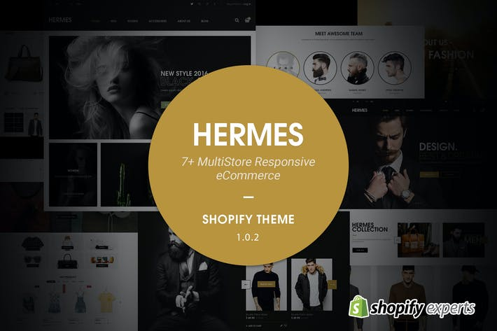 Thumbnail for Hermes | Multitienda Responsive Shopify Tema
