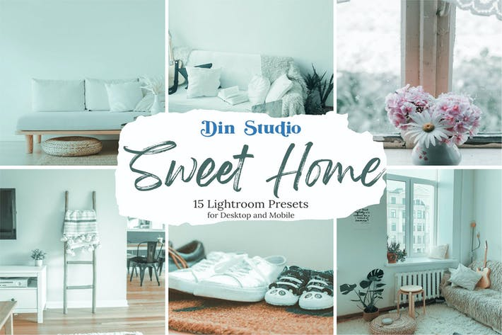 Thumbnail for Пресеты Sweet Home Lightroom