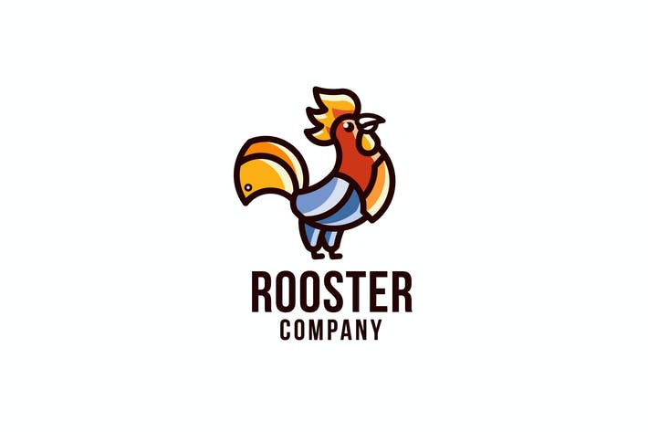 Thumbnail for Rooster Company Logo Template