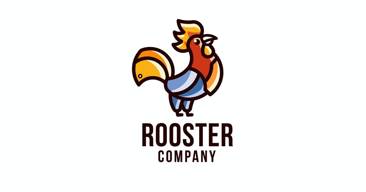 Download Rooster Company Logo Template by IanMikraz